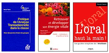 Livres écrits par Nicole Pierre sur l'analyse transactionnelle