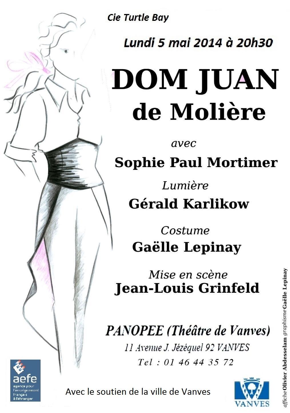 Dom Juan - 5 mai 2014