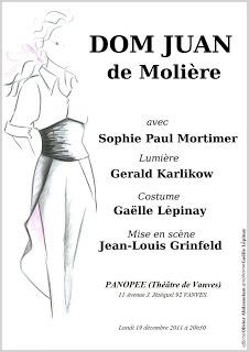 L'affirmation de soi au féminin : Dom Juan de Molière !